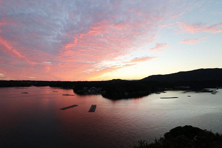プライムリゾート賢島の夕陽