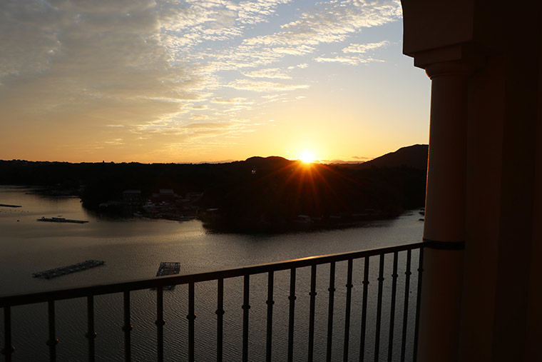 プライムリゾート賢島 夕陽