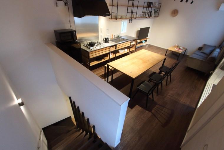 Rakuten STAY HOUSE x WILL STYLE 河口湖船津のリビングダイニングキッチン