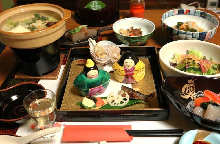 猿ヶ京温泉 料理旅館樋口 ご主人が振る舞う四季折々のお料理