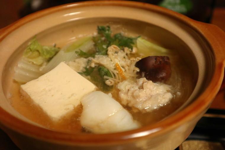 猿ヶ京温泉 料理旅館樋口 料理 塩麹鍋