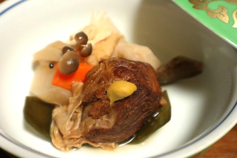 猿ヶ京温泉 料理旅館樋口 群馬産の麦豚をじっくり煮込んだ角煮