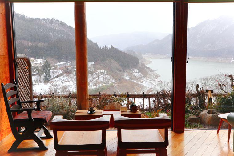 猿ヶ京温泉 料理旅館樋口 赤谷湖の景色