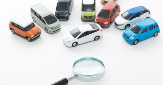 レンタカー予約時の車種(ボディタイプ)選択