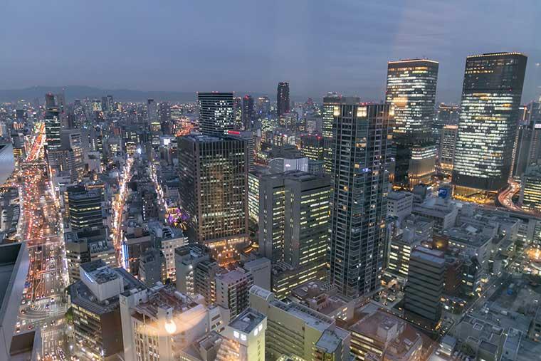 ザ・リッツ・カールトン大阪 夜景