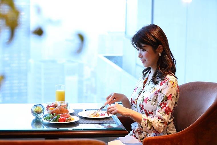 ザ・リッツ・カールトン大阪 クラブラウンジ 朝食