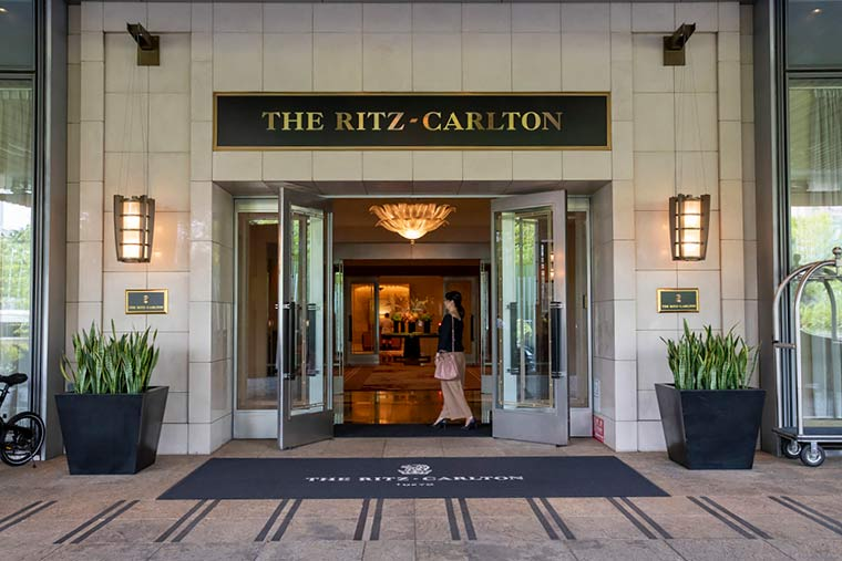 ザ・リッツ・カールトン東京 入口イメージ
