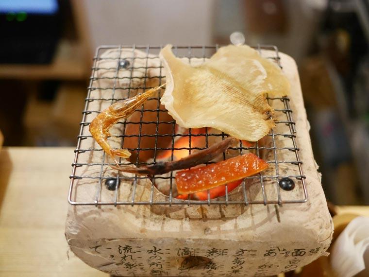 お試し海鮮炙り 8種盛り 1,390円