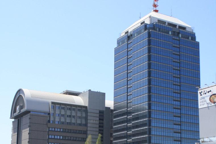 堺市役所の展望ロビー