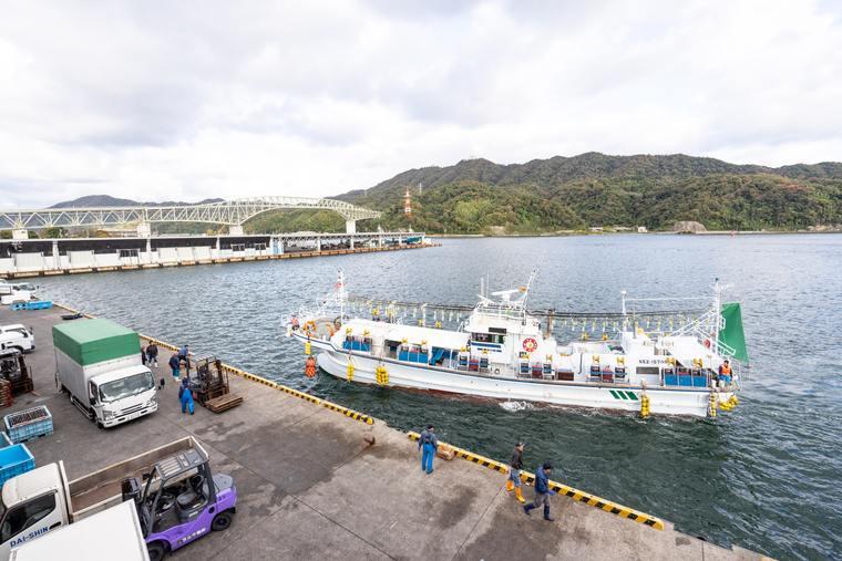 境漁港見学ツアー