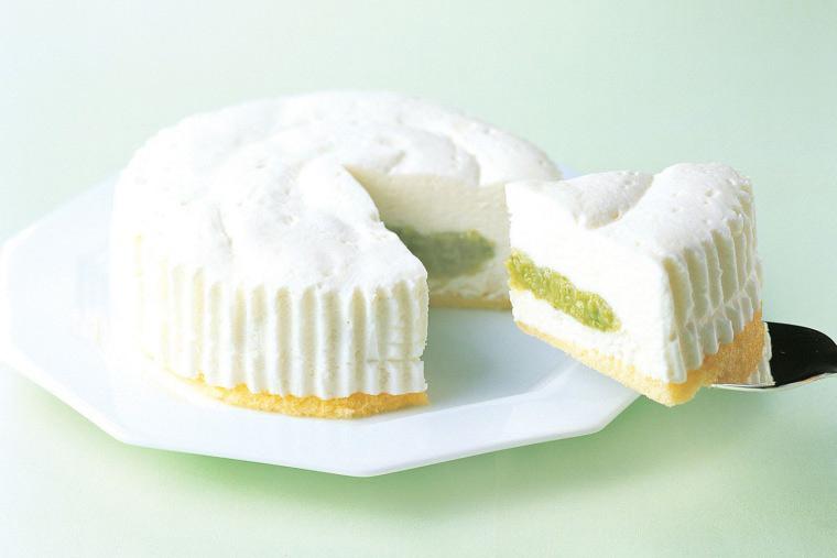 ずんだ茶寮「ずんだ白雪チーズケーキ」