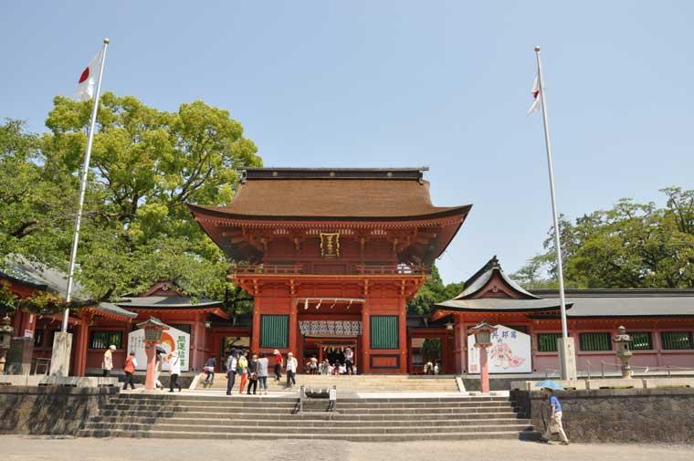 浅間大社の楼門