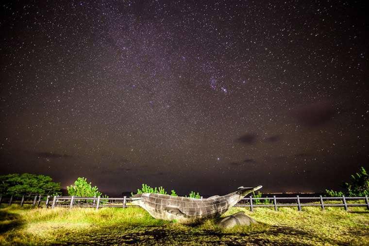 式根島 満天の星 小の口公園