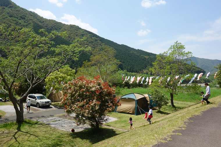 四万十カヌーとキャンプの里 かわらっこのキャンプ場