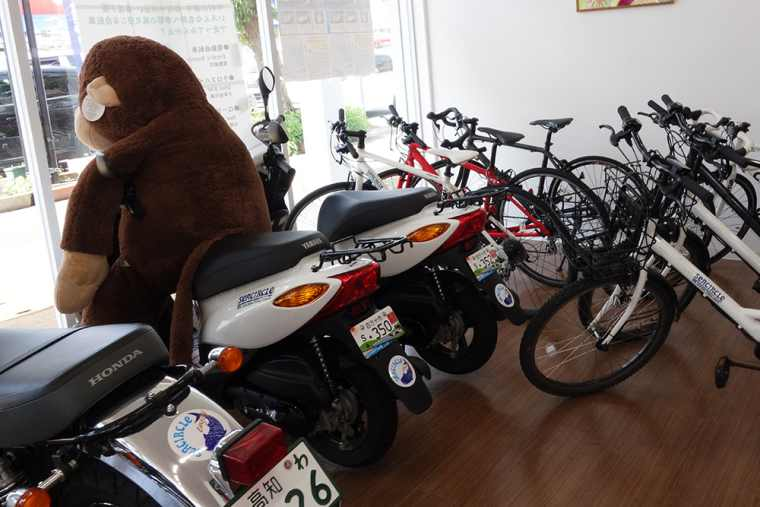 SEACIRCLEのレンタルバイク