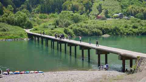 清流・四万十川の絶景を体感!レンタサイクルで沈下橋めぐり