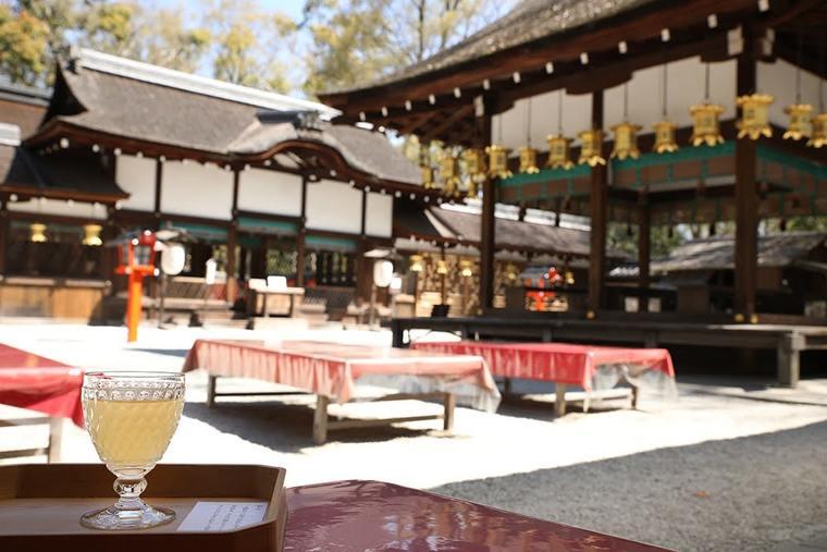 河合神社の「美人水」