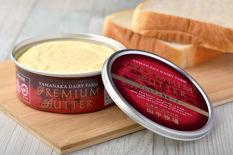 山中牧場のプレミアム発酵バター