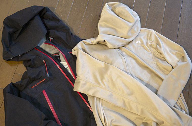 体温調整しやすい上着があると便利