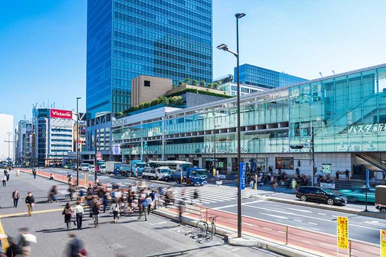 東京土産 新宿駅