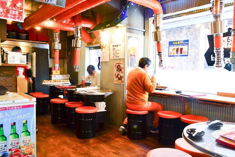 新大久保 韓国料理「でじにらんど」 ランチ