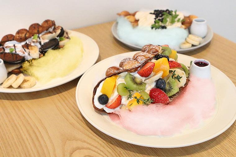 新大久保 韓国 ジェジュン カフェ「cafe de KAVE」 パンケーキ