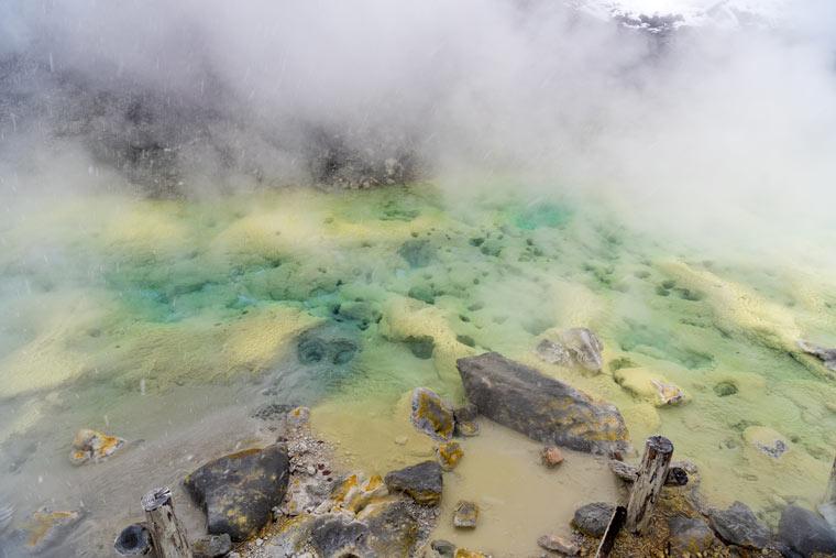 新玉川温泉 天然屋外岩盤浴