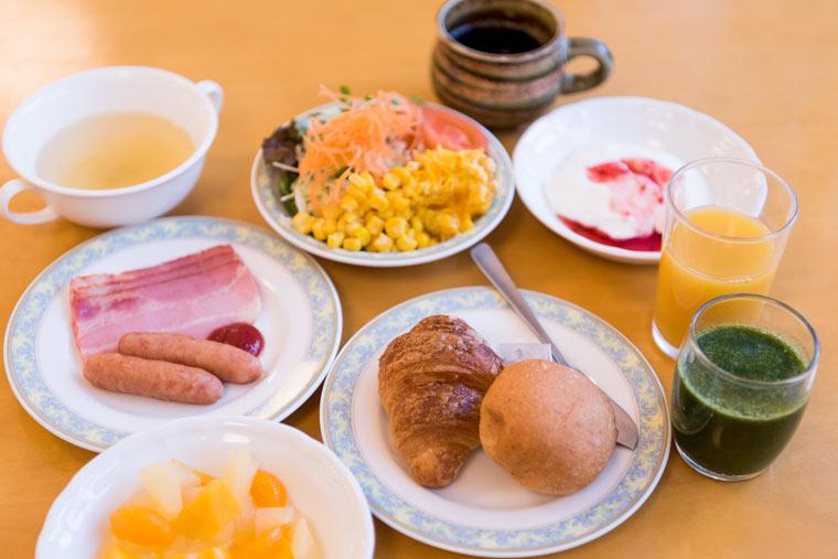 新玉川温泉 朝食バイキング