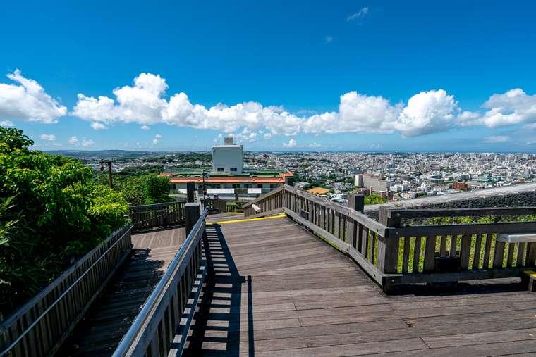 首里城 西のアザナからの風景