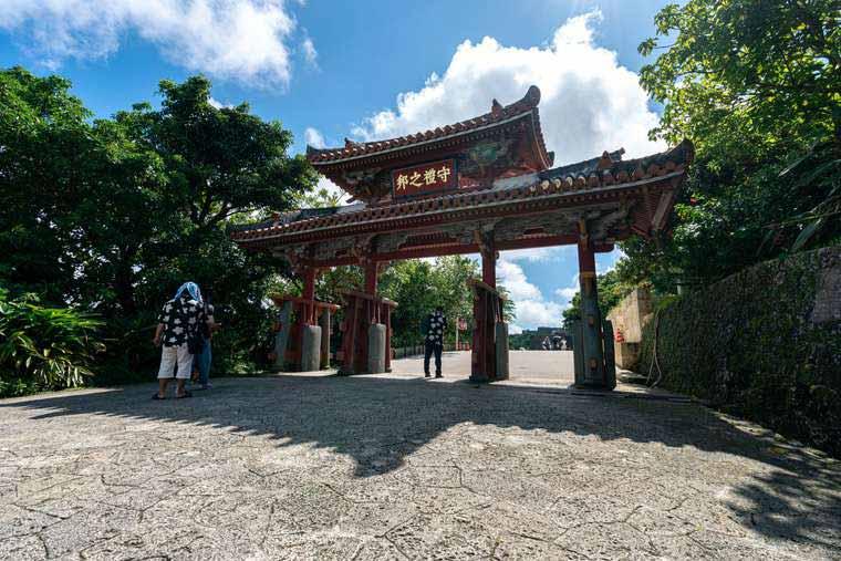 沖縄・首里城と城下町を散策!