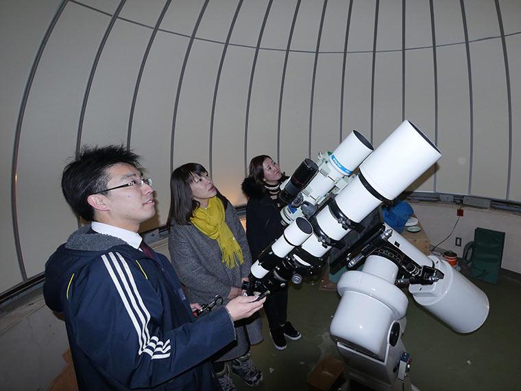 星空観測を楽しむ温泉旅 高峰高原ホテル 天体望遠鏡