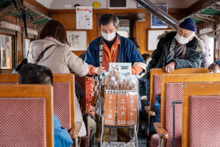 「津軽鉄道」ストーブ列車