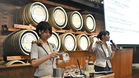 「サントリー山崎蒸溜所」見学ツアーでテイスティング体験!