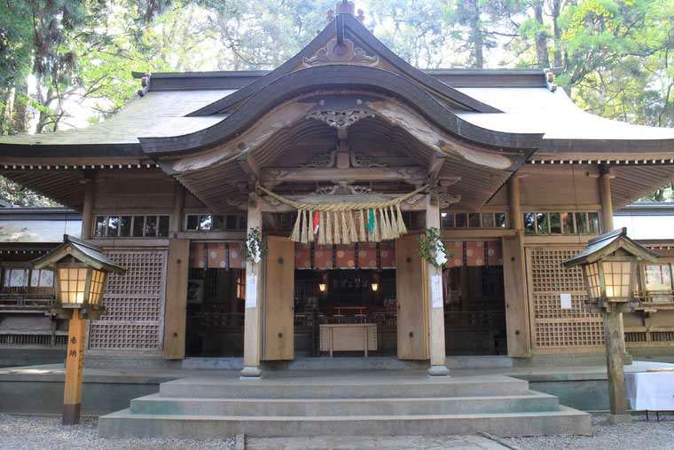 高千穂神社 本殿 重要文化財