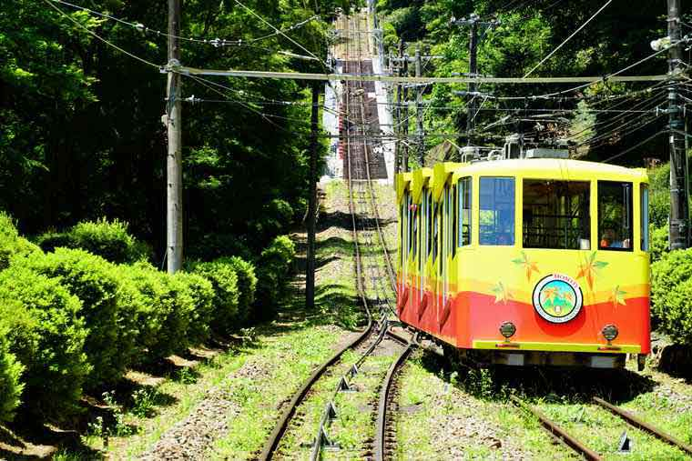 高尾山 清滝駅 ケーブルカー