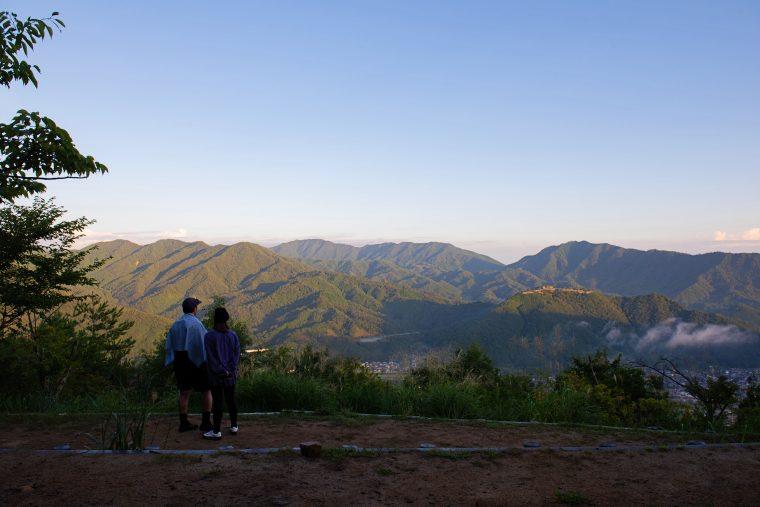 竹田城 立雲峡 展望台 雲海
