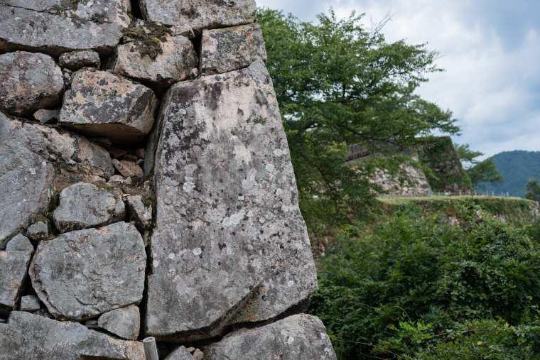 竹田城 石垣