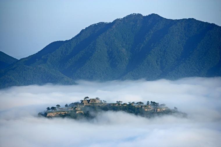 竹田城 立雲峡