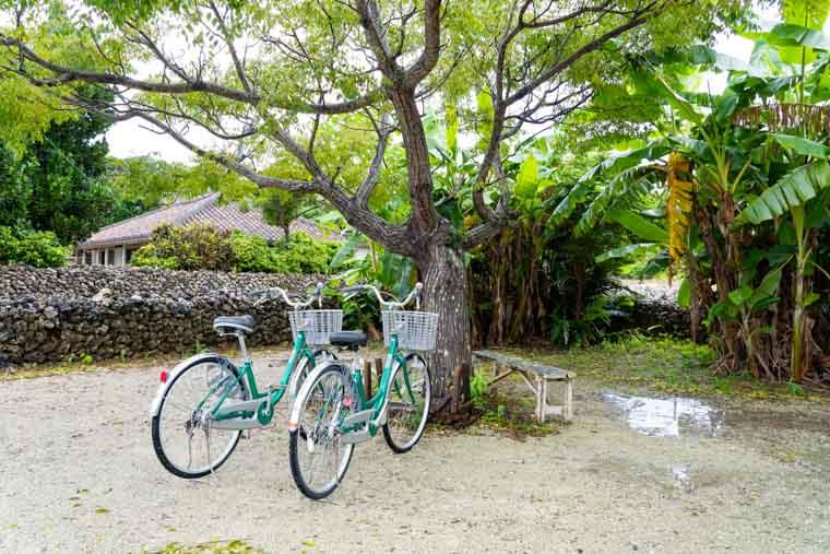 竹富島のレンタサイクル