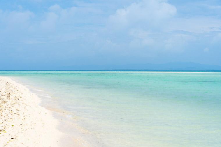 コンドイ浜のビーチ