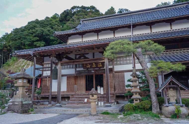 清巖寺 入口