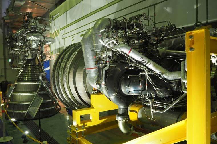 ロケットエンジンの実験モデル