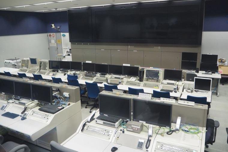 種子島宇宙センターの総合司令棟