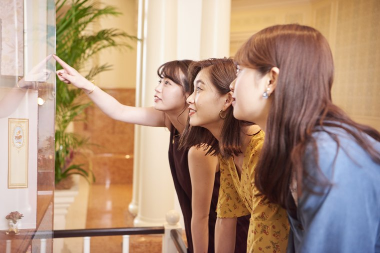 東京ディズニーランドホテル 隠れキャラクター 谷川りさこ 井口綾子 高井明日香