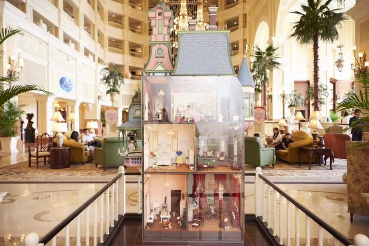 東京ディズニーランドホテル ディズニーキャラクター ドールハウス