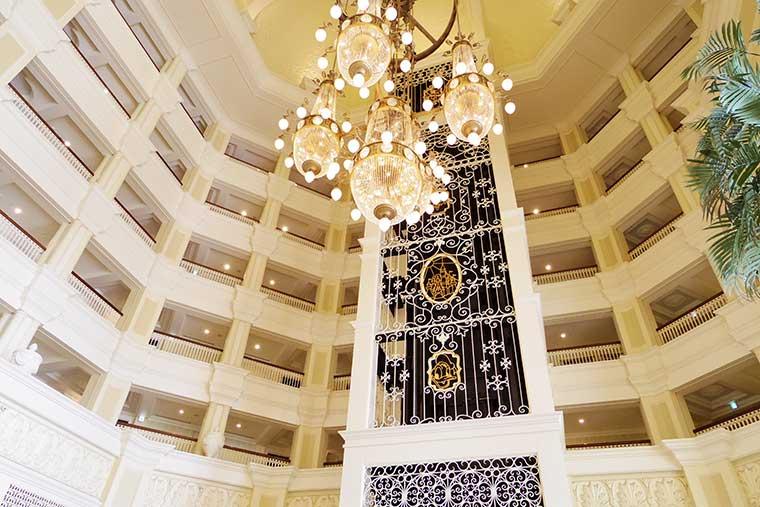 東京ディズニーランドホテル 隠れミッキー
