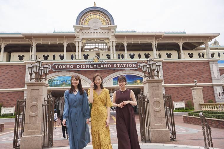 東京ディズニーランドホテル 女子旅 東京ディズニーステーション