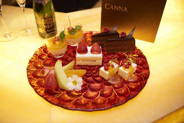 東京ディズニーランドホテル「カンナ」アニバーサリープラン
