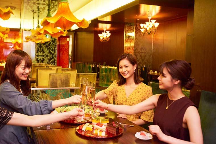 東京ディズニーランドホテル「カンナ」ランチ 誕生日 谷川りさこ 井口綾子 高井明日香