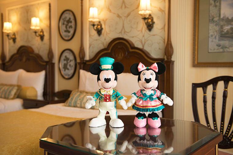 宿泊ゲスト限定 ぬいぐるみセット ミッキーマウス ミニーマウス